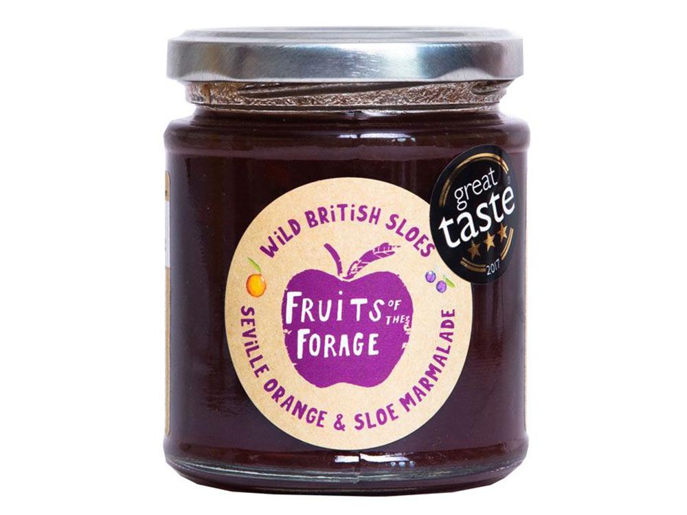 Fruits of the Forage Sloe Seville Marmalade