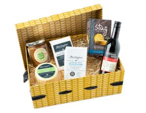 Hartington Cheese & Wine Lovers Hamper, Pick Your Own