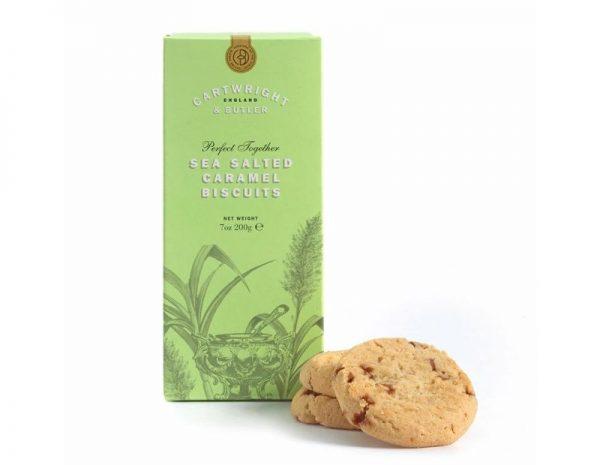 Cartwright & Butler Salted Caramel Biscuits