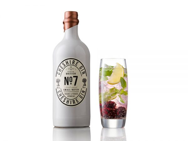Cheshire Gin No. 7 Porcelain Bottle 70cl : 40% vol