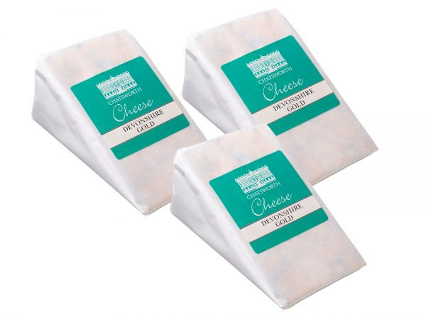 Devonshire Gold Cheese Wedge x 3