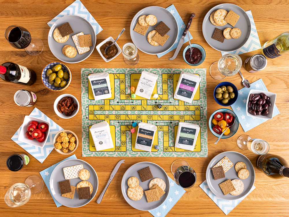 Crackerdash Game with Cheese Wedges